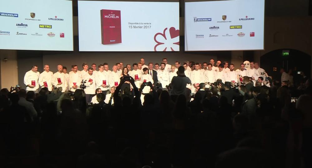 La cérémonie du guide Michelin 2017