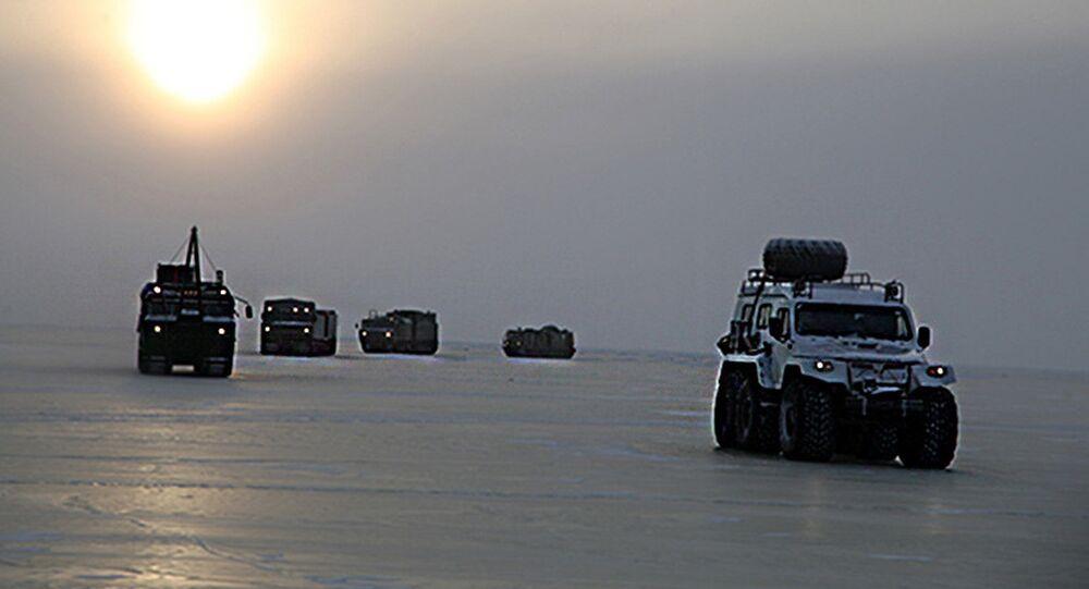 De nouveaux tout-terrain russes en Arctique
