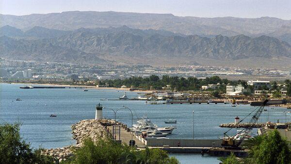 Вид на порт города Акаба - Sputnik France