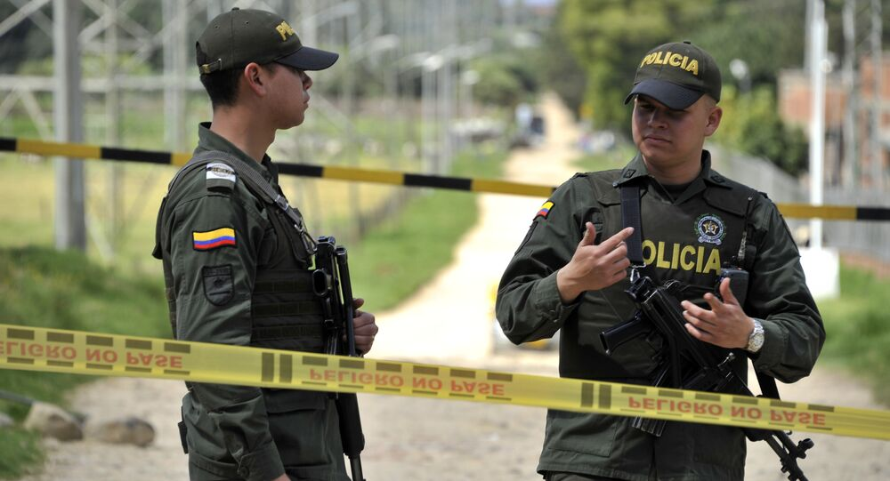 Police colombienne