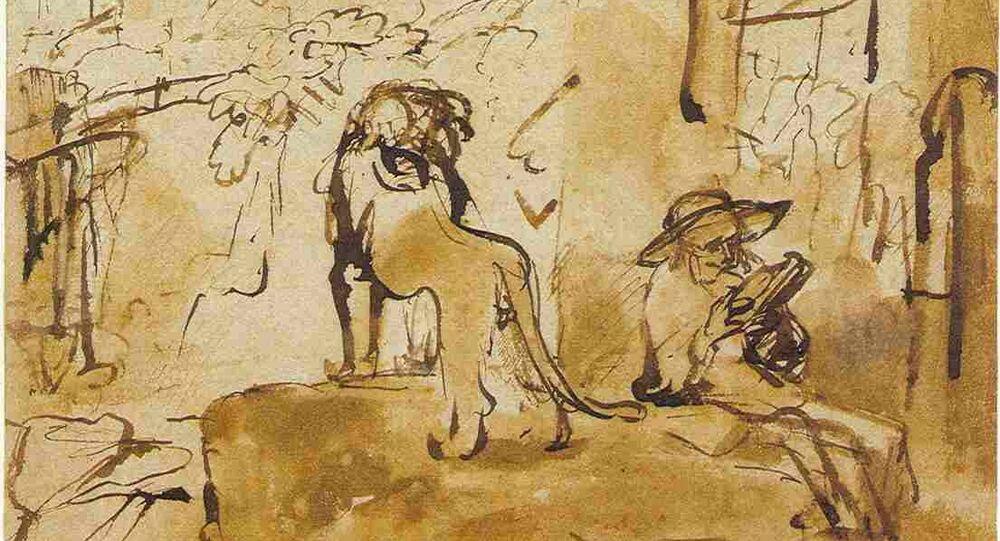 croquis de Rembrandt