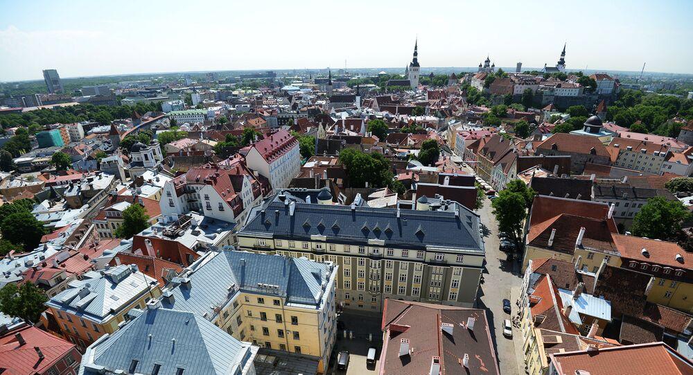 Tallinn, vue d'en haut