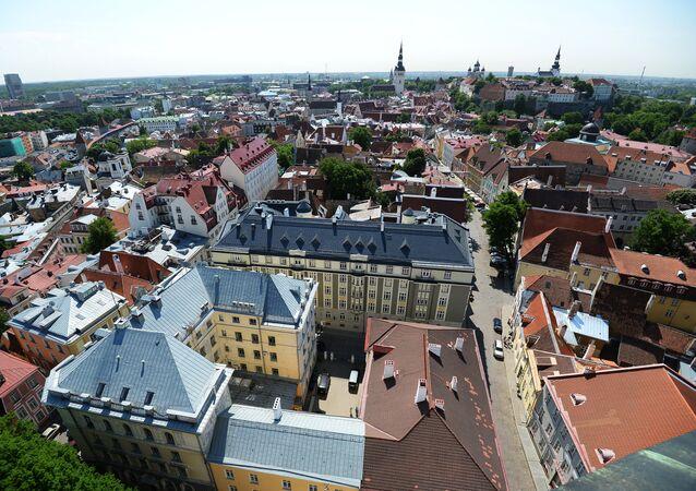 World cities. Tallinn