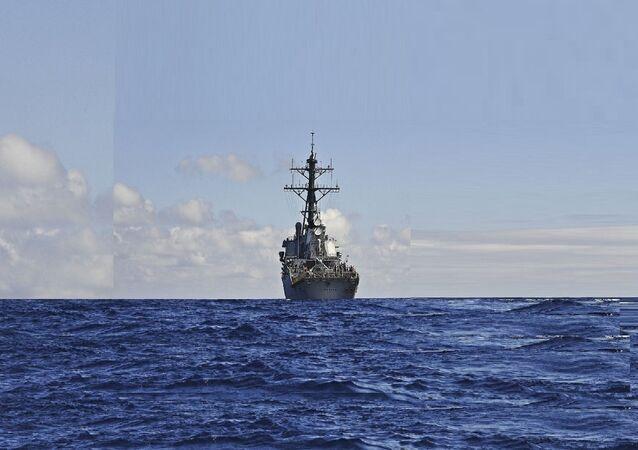 Un destroyer US Porter