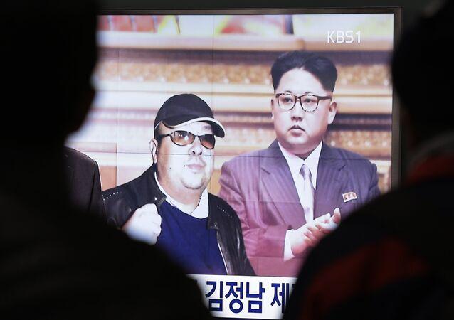 Kim Jong-un, et son demi-frèreKim Jong-nam