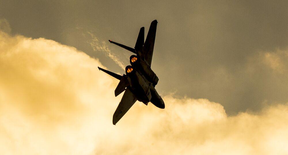 Un avion militaire israélien