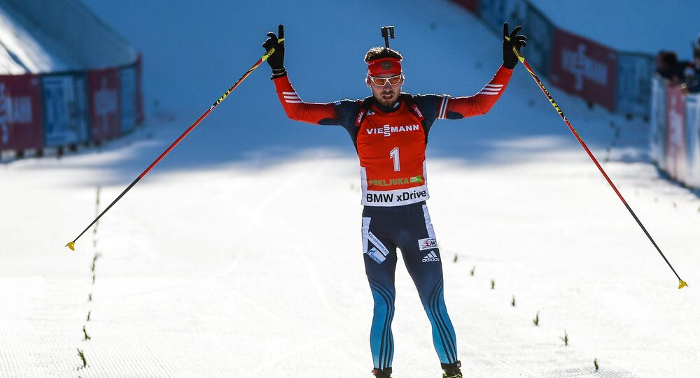 le sportif russe Anton Chipouline