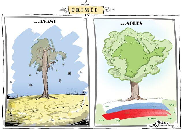 Les revenus de la Crimée ont doublé depuis qu'elle a été rattachée à la Russie