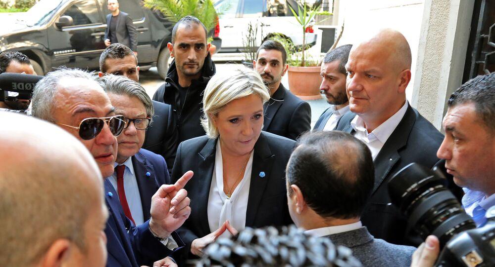 Marine Le Pen au Liban