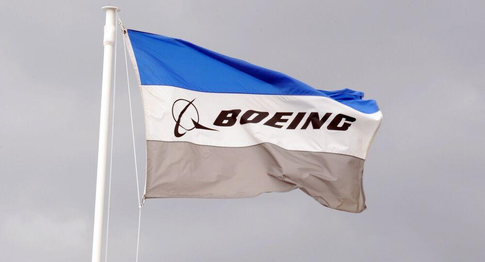 Drapeau de Boeing