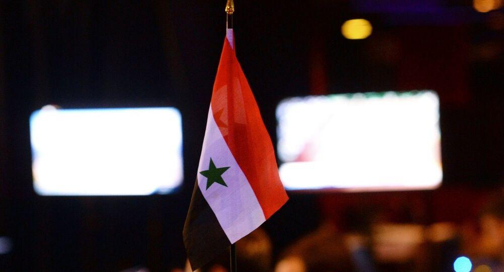 Drapeau de la Syrie