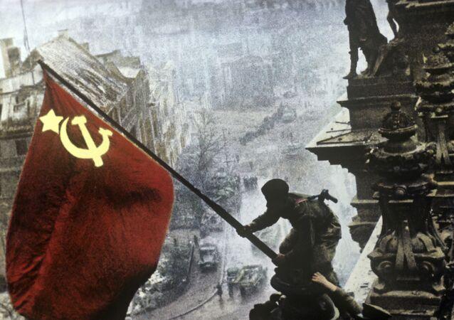 Le Drapeau rouge sur le Reichstag