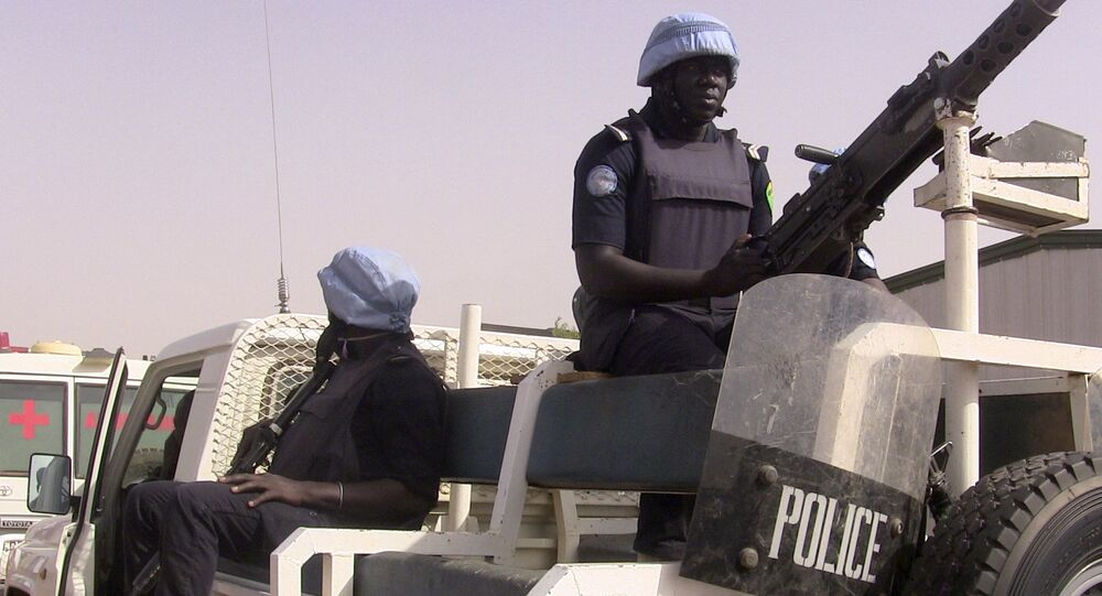 Policiers maliens