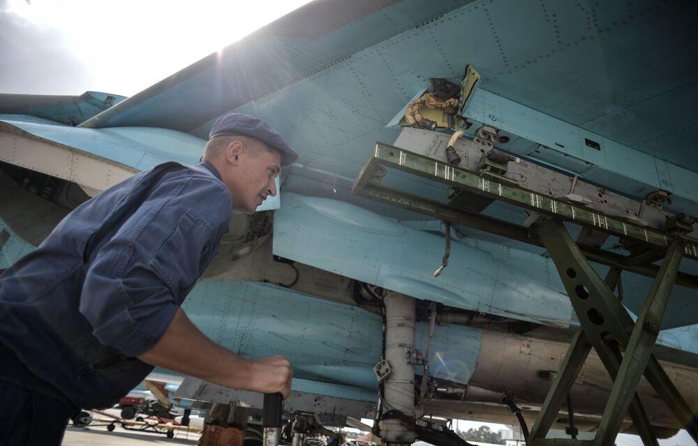 La vie quotidienne des militaires russes en Syrie