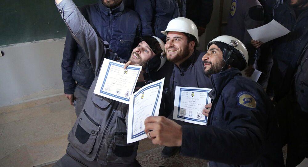 Les Casques Blancs en Syrie