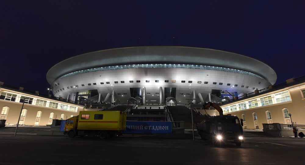 Le stade de Saint-Pétersbourg
