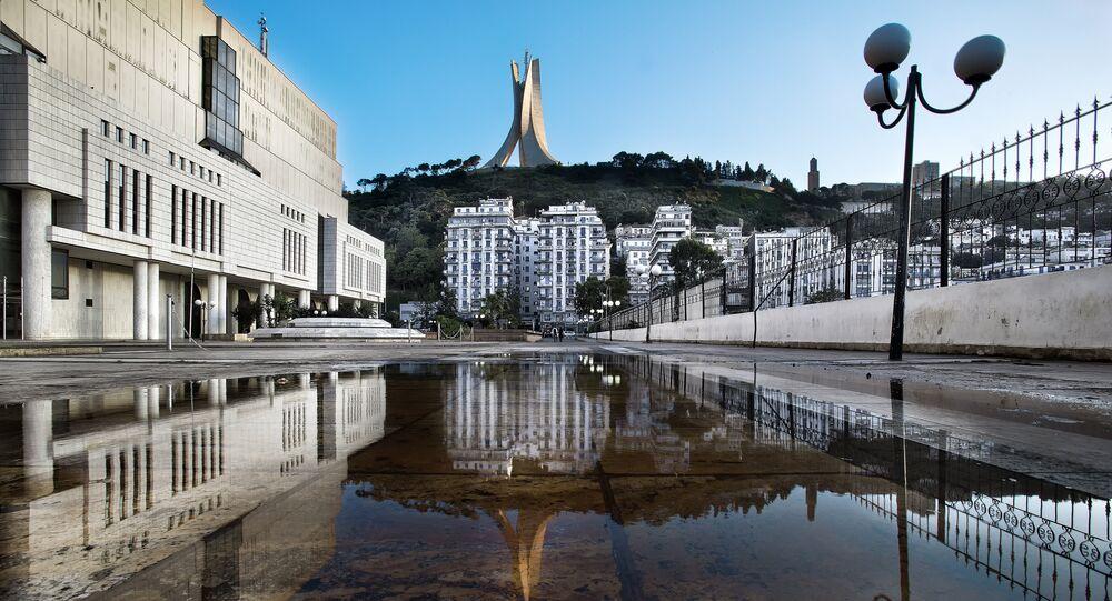 Alger, capitale de l'Algérie