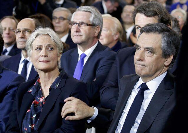 Francois Fillon et Penelope Fillon