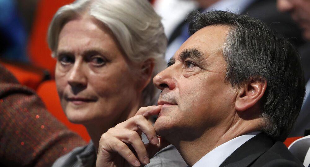 François Fillon et son épouse Penelope