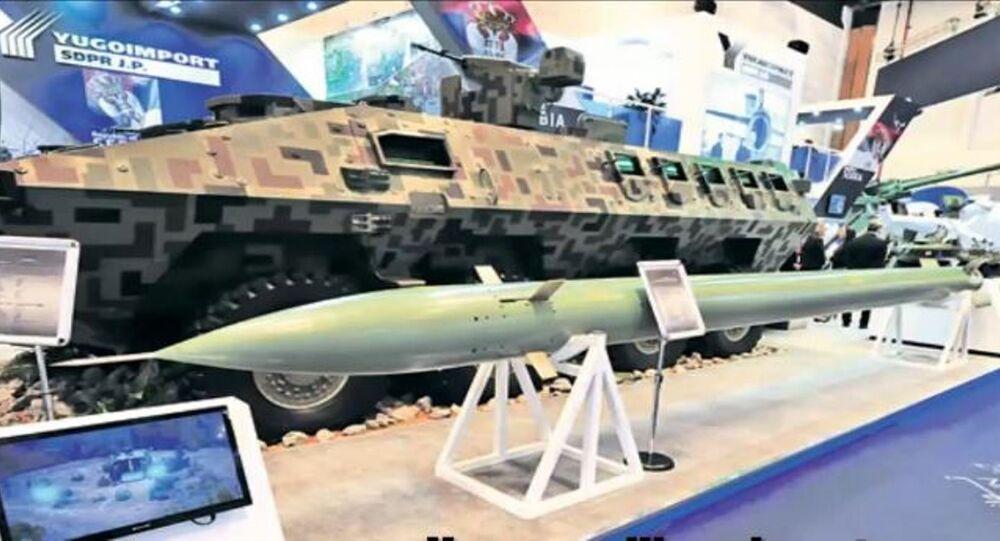La Serbie se dote d'un missile identique au WS-2 chinois