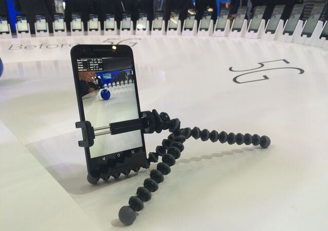 Un smartphone 5G