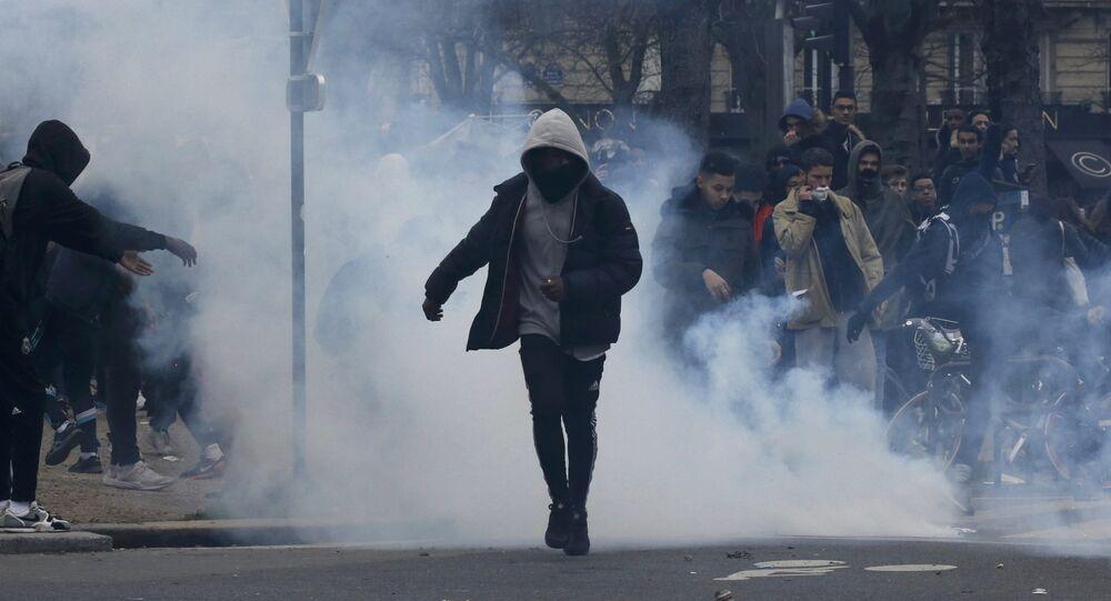 Des violences à Paris (image d`illustration)