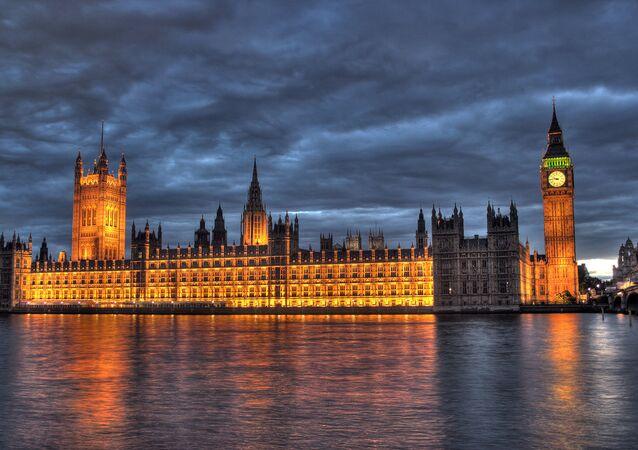 Le siège du parlement britannique