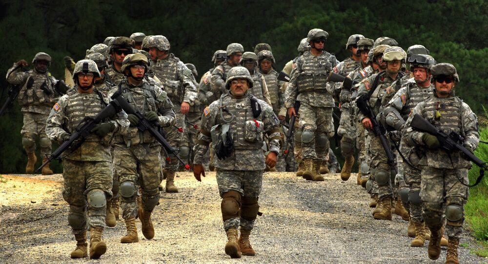 Soldats américains (image d'illustration)