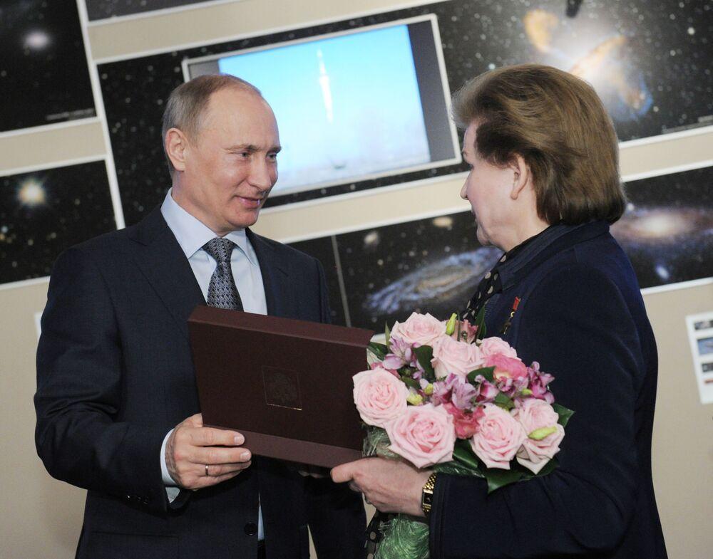 Valentine Terechkova, la première femme dans l'Espace