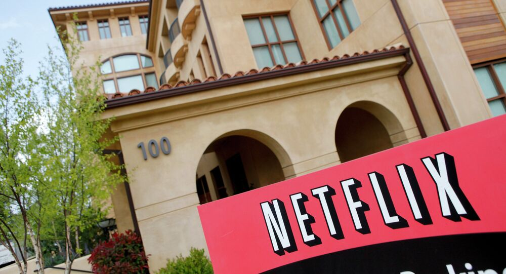 Le siège de Netflix à Los Gatos, en Californie