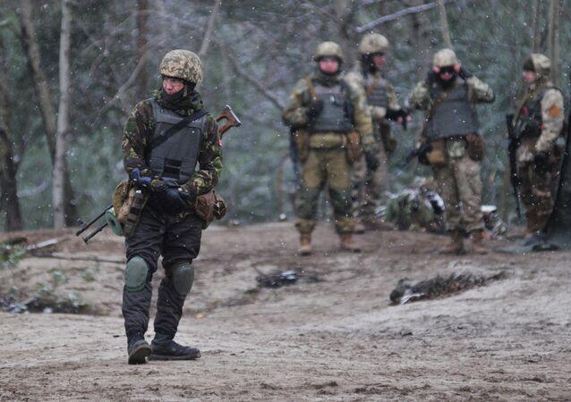 Instructeurs militaires canadiens en Ukraine