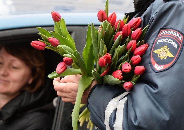 Les Russes fêtent le 8 mars