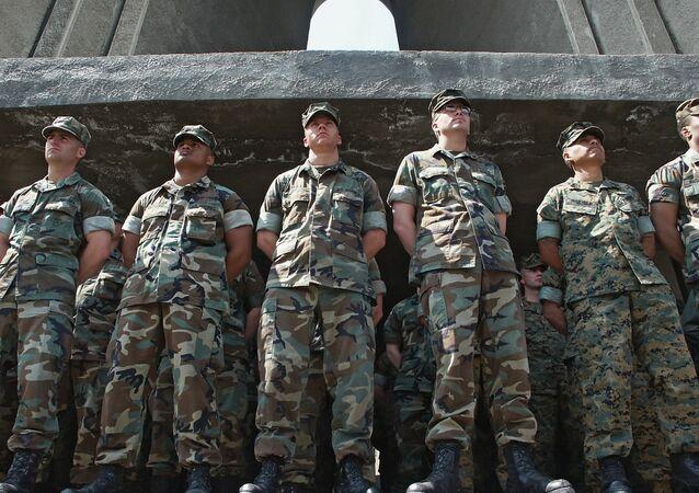 Des militaires US