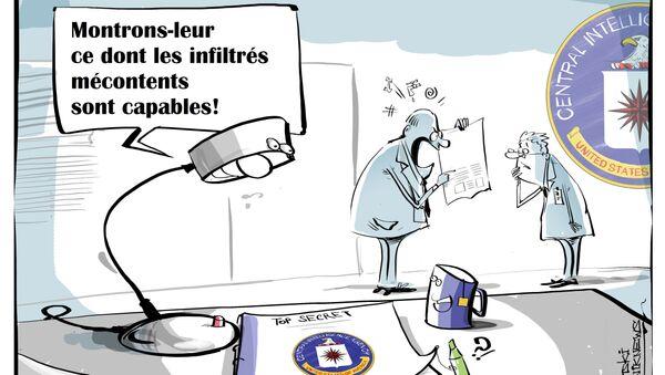 Les nouvelles révélations de WikiLeaks sèment la panique à la CIA - Sputnik France