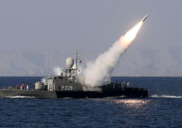 Tir de missile iranien