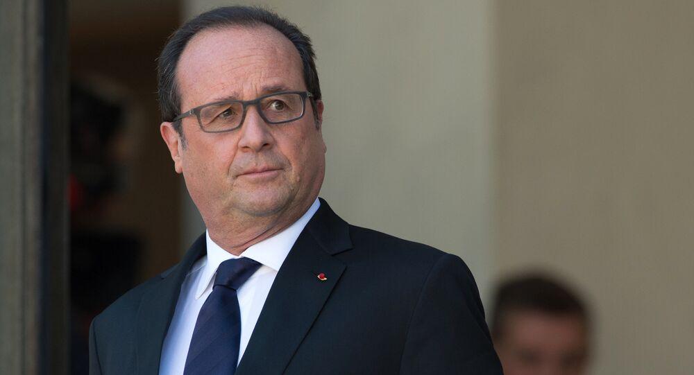 François Hollande, ancien président français