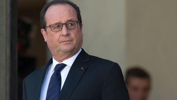 François Hollande, président français - Sputnik France
