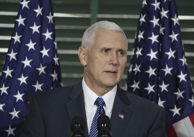 Michael Pence, vice-Président des Etats-Unis