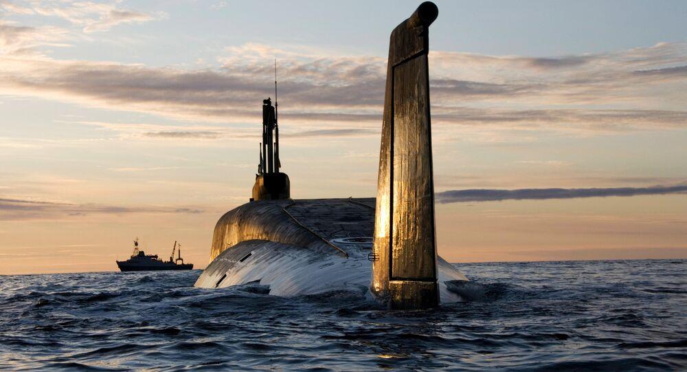Sous-marin nucléaire russe Iouri Dolgorouki