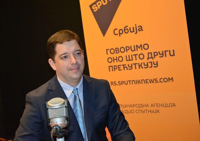 Marko Djuric, chef de la chancellerie gouvernementale serbe pour le Kosovo et la Métochie