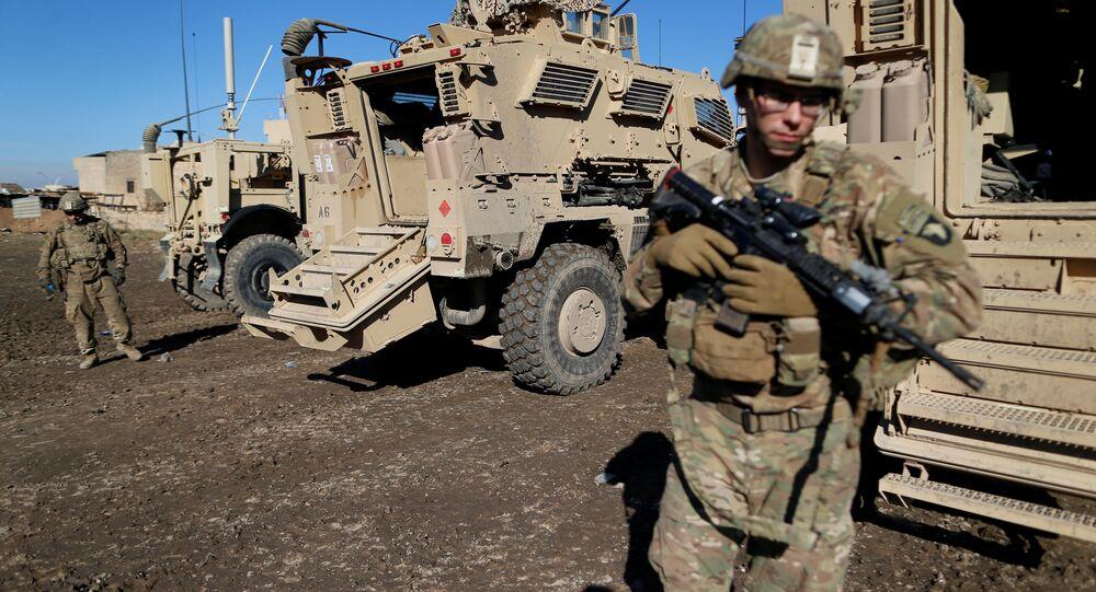 Soldats US, Mossoul, Irak