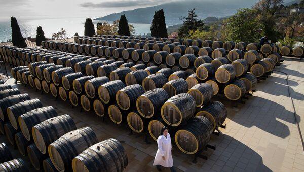 Le domaine viticole de Massandra, en Crimée - Sputnik France