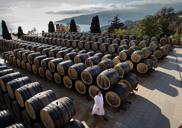 Le domaine viticole de Massandra, en Crimée