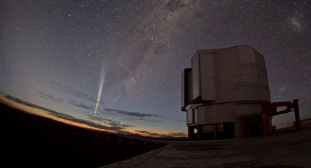 Une comète