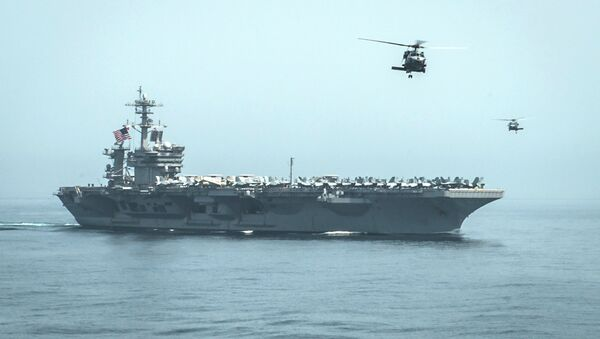 USS Carl Vinson - Sputnik France