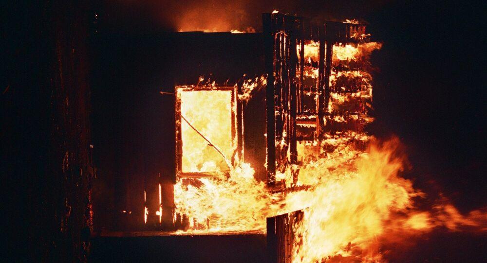 feu, image d'illustration