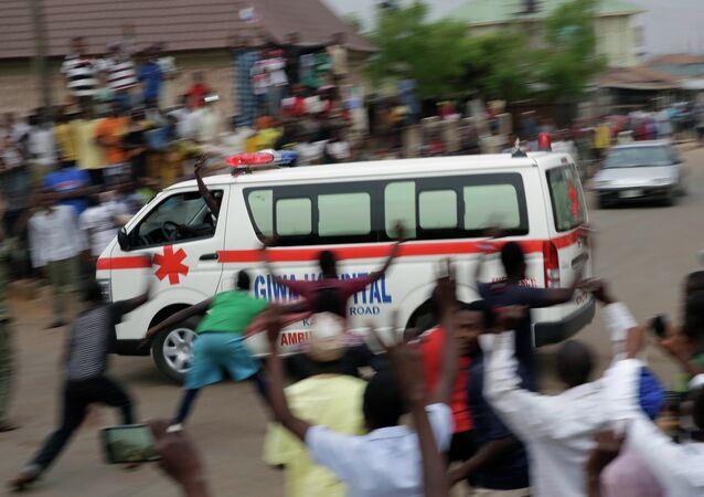 Ambulance nigérienne