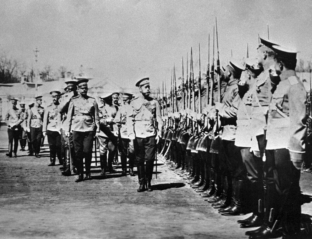 Image de la « fin d'un monde » : Nicolas II, le dernier empereur russe
