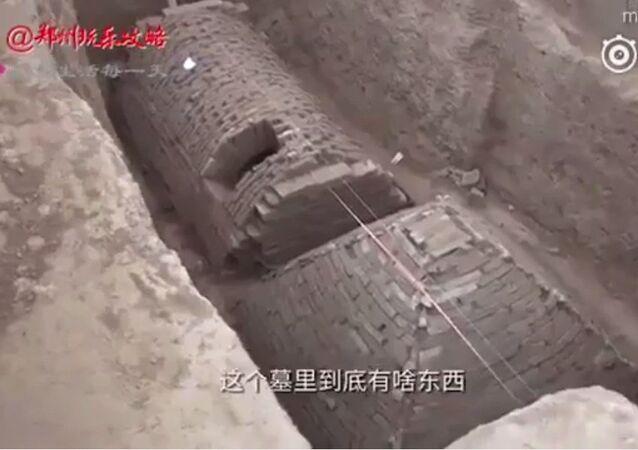 Pyramide égyptienne en Chine