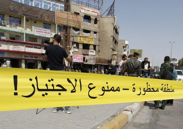 Explosions à Bagdad